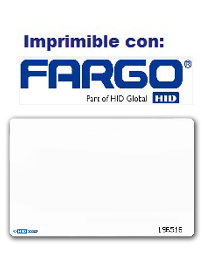 HID 1386NGGNN - Paquete de 100 tarjetas  ISOProx II de PVC/ Programación de numero interno y facility code / 125 Khz / Tiempo entrega 1 semana