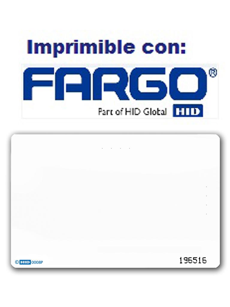 HID 1386NGGNN - PAQUETE DE 100 TARJETAS ISOPROXII DE PVC/ PARA PROGRAMAR CON IMPRESORA FARGO/ 125KHZ / SOBREPEDIDO TIEMPO ENTREGA 1 SEMANA