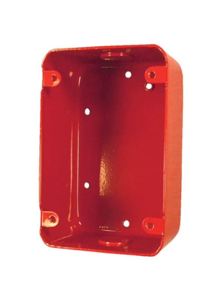 BOSCH F_FMM100SBBR - Caja posterior para estacion manual / Metal / UL
