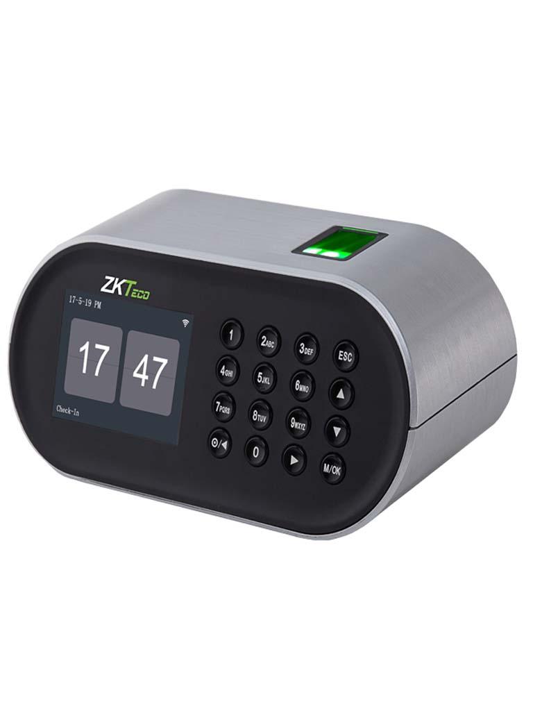 ZK D1 - CONTROL DE ASISTENCIA BASICO / 1000 HUELLAS / WIFI / DESCARGAS USB EN HOJA DE CALCULO / 2 HORAS DE RESPALDO / PARA ESCRITORIO / APP