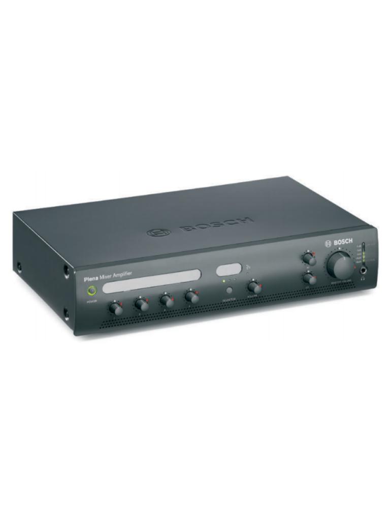 BOSCH M_PLE1MA120US - Amplificador mezclador / 1 Zona / 120W / 4 Entradas linea / 3 Entradas musica