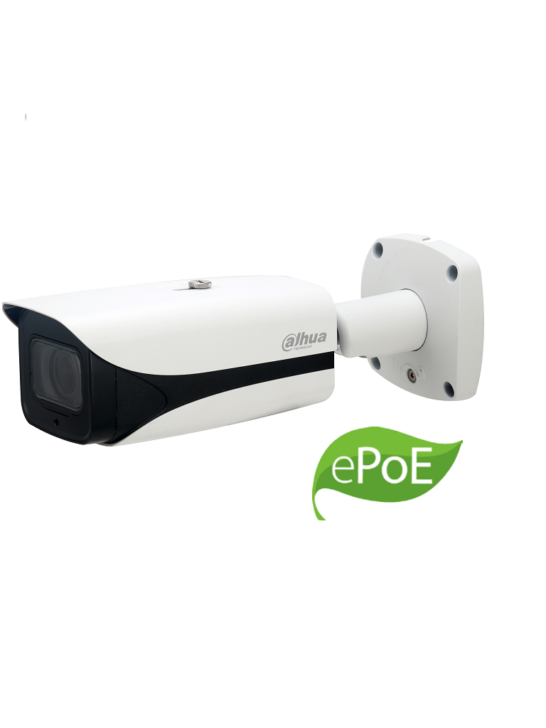 DAHUA IPCHFW8231EZ5E - Camara IP bullet 2 MP ultra WDR 140 dB / H265+ / Lente motorizado 7 mm a 35 mm / IVS / IP67 / IK10 /  PoE+ / E PoE / Ir 50  Mts / HEAT MAP