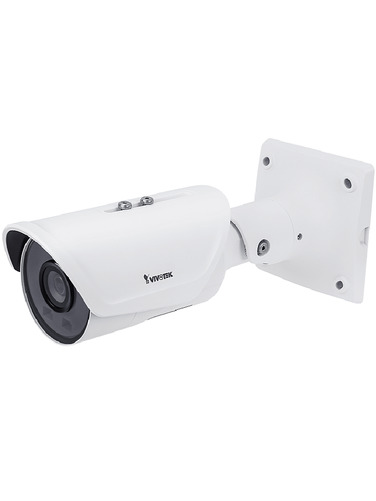 VIVOTEK IB9387H - Camara IP bullet exterior 5  MP / H265 / Lente Fijo 3.6 mm /  PoE AT / Smart ir 30M / WDR Pro / SNV / Smart stream iii / Smart ir / IK10 / Smart MOTION DETECION / Antivandalica