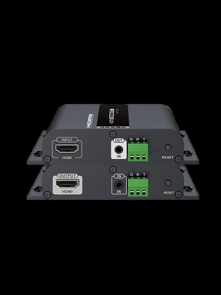 SAXXON LKV683S- EXTENSOR HDMI SOBRE IP/ 4K/ 120 METROS/ RS232/ HDBIT/ CAT 5E Y 6/ 30 HZ/ SOPORTE DE TRANSMISION DE IR/ COMPATIBLE CON HDCP 1.4