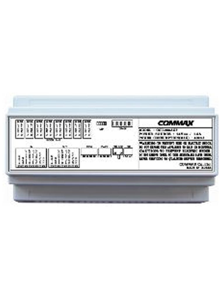 COMMAX CCU208AGF- DISTRIBUIDOR DE PISO PARA SISTEMA DE AUDIO/ 8 INTERCOMUNICADORES AP2SAG/ CONEXION A 2 HILOS/ SISTEMA AUDIOGATE/ 24VDC