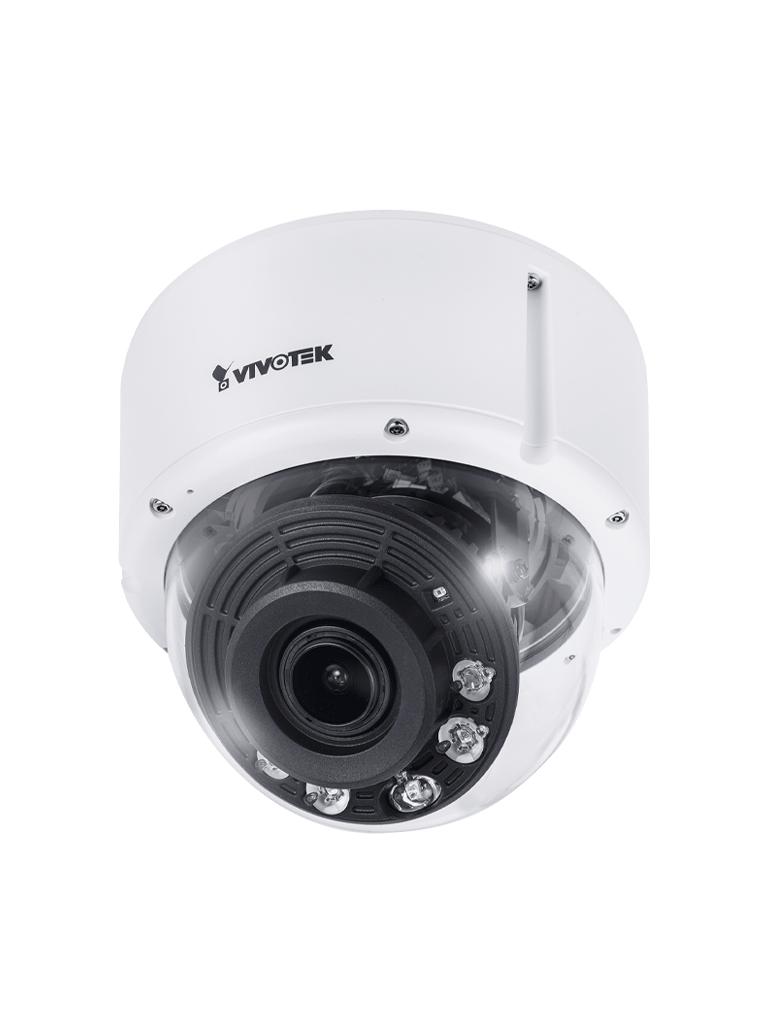 VIVOTEK FD9391EHTV - CAMARA IP DOMO EXTERIOR /8 MP/ H265/SNV/WDR PRO/SMART STREAM III/50M IR/NEMA 4X/IP66/IK10/LENTE 3.9-10MM/AUDIO/