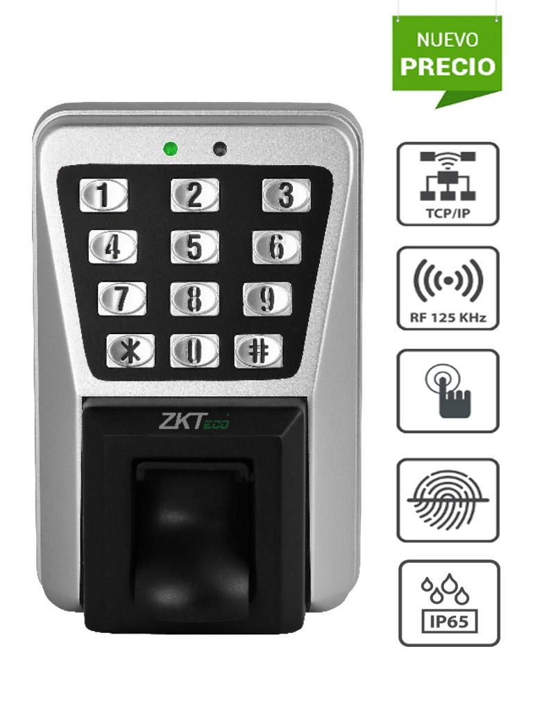 ZKTECO MA500 - Control de Acceso y asistencia Profesional / 3,000 Huellas / 30,000 Tarjetas  RFID / Conexión TCPIP /  IP65 / Compatible con Software Gratuito ZK Access 3.5