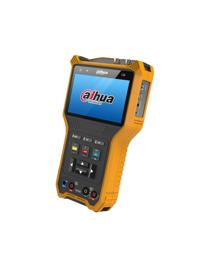 DAHUA PFM905E- PROBADOR DE VIDEO HDCVI/ AHD/ TVI/ CVBS/ PANTALLA DE 4''/ SOPORTA CONTROL PTZ RS485/ MULTIMETRO DIGITAL/