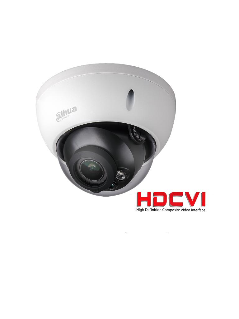 DAHUA HDBW1230RZ- CAMARA DOMO ANTIVANDALICO HDCVI 1080P/  STARLIGHT 0.005 LUX COLOR/ TVI/ AHD/ CVBS/ LENTE MOTORIZADO 2.7 A 12MM/ SMART IR 30 M/ IP67/