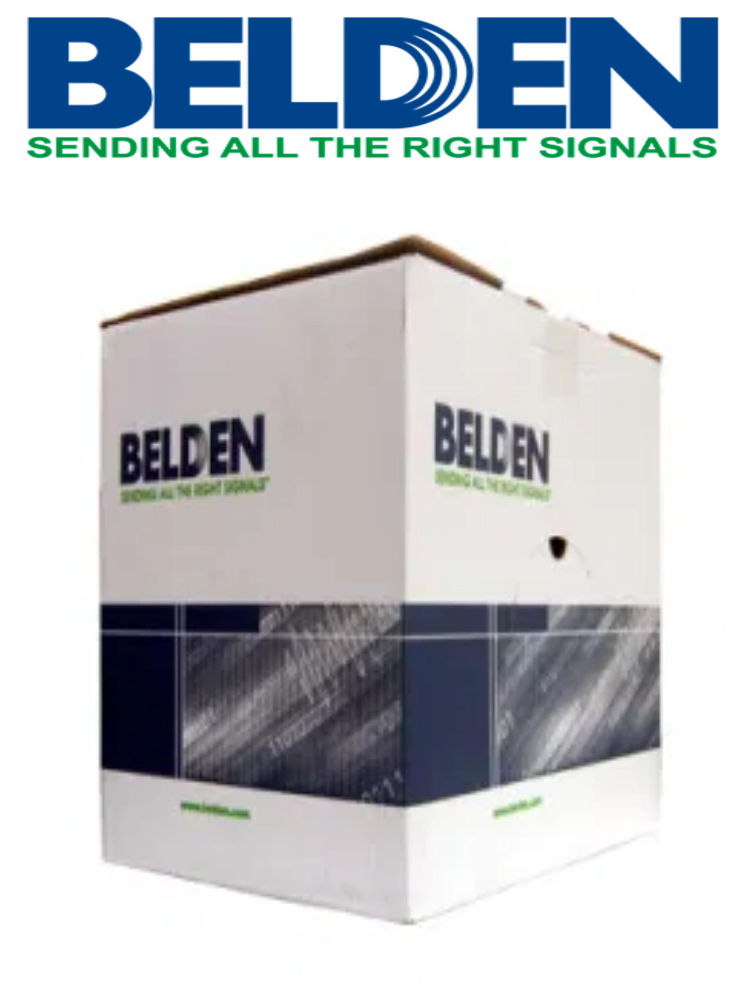 BELDEN 5502UE0081000- Cable de alarma/ 4 Conductores/ Cobre/ Calibre 22 AWG/ 305 Metros/ Recomendable para control de acceso/ Videoportero/ Audio/
