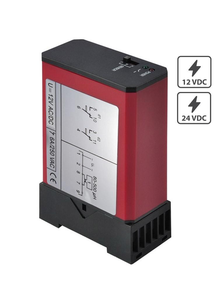 ZKTECO ZF24 - Sensor de Masa de un Carril / 12VDC y 24VDC / Salida NO NC COM /Compatible con Barrera WEJOIN y ZKTECO