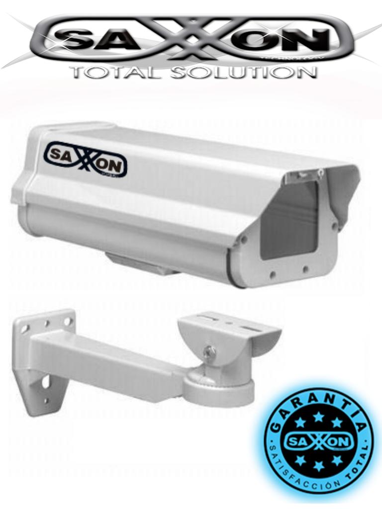 SAXXON HO605&BR205 - Gabinete blanco tipo FLIP-OPEN / Medida 14.2 x 11.5 x 37 CM / Incluye soporte / Largo