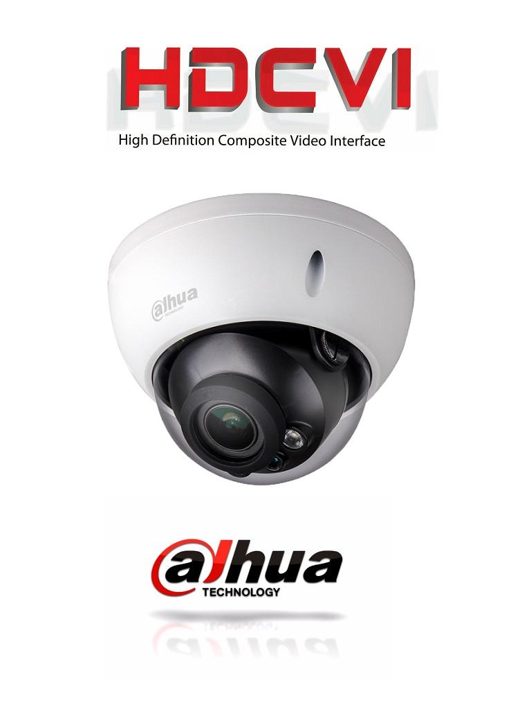 DAHUA HDBW2601RZ - Camara domo antivandalico  HDCVI 6 megapixeles / WDR Real 120 dB / Lente motorizado 2.7 a 13.5  mm / Ir 30  Mts / IP67 / IK10 / Interfaz de audio