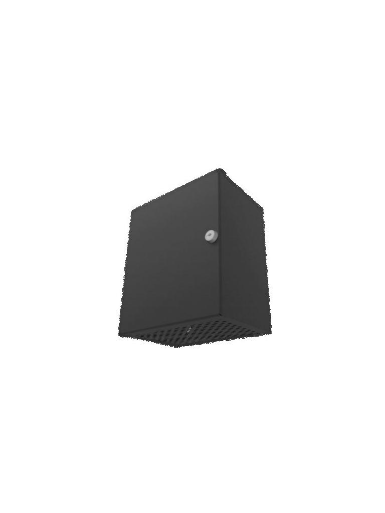 LACES LA900GS18 - Gabinete para resguardo de sirena de alarma / Fabricado en acero antivandalico / Dimensiones en CM alto 26CM, ancho 21CM, largo 15CM