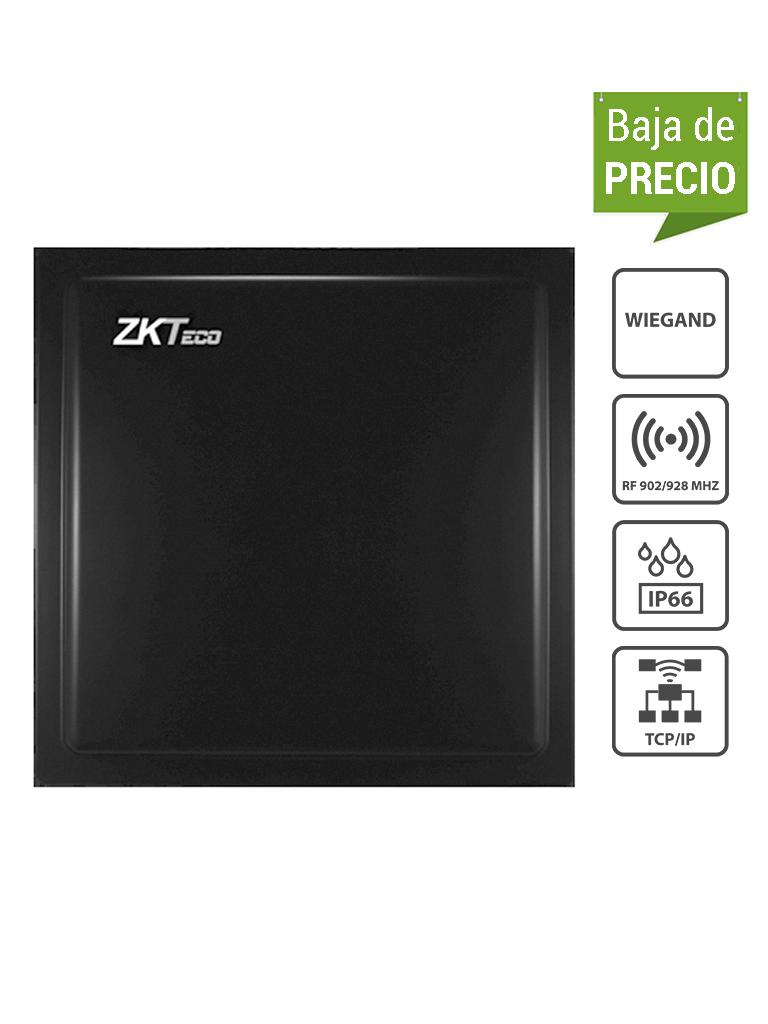 ZKTECO U1000F - Lectora de Largo Alcance UHF de 1 a 5 metros con Panel de Control de Acceso Integrado, Requiere Fuente TVN0830052, Conexión TCP/IP, IP66, Compatible con Tags UHFT4 / #OfertasAAA