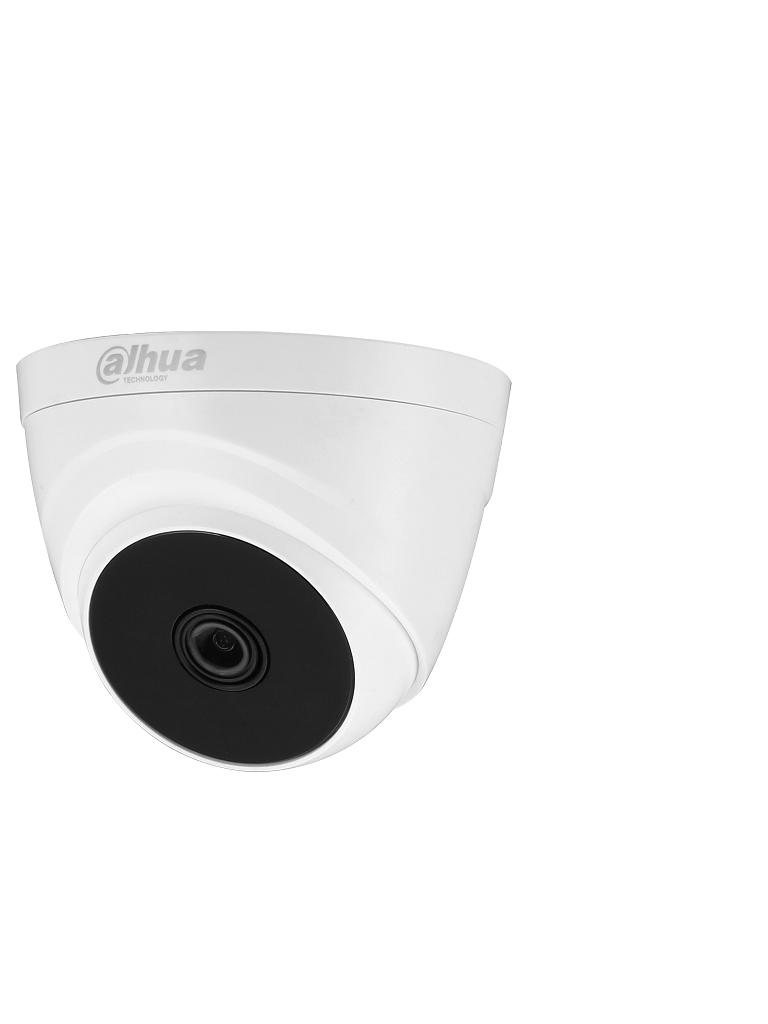 DAHUA COOPER T1A2136 - Camara Domo HDCVI 1080p/  93 Grados de Apertura/ Lente de 3.6mm/ IR 20 Mts/ Uso Interior/ TVI AHD y CVBS/
