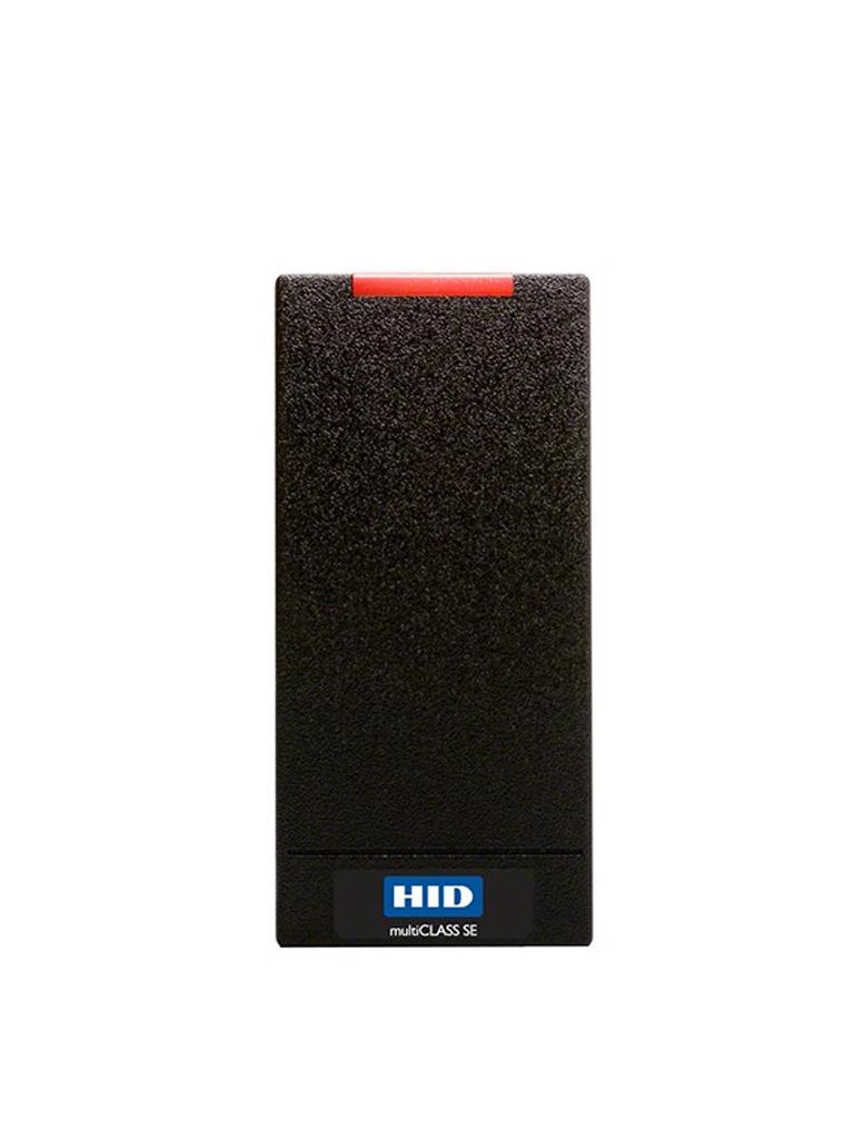 HID R10EKNB - Lectora perfil seos 900NBNNEK20000 para control de acceso con MOBILE ID BLUETOOTH y tarjetas plasticas seos 5006PGGMN / Sobrepedido
