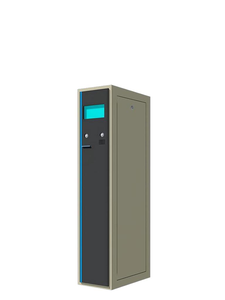 PARKTRON BENT219C - Terminal de entrada para sistema de cobro de estacionamientos de tickets con impresion de codigos QR/ Sobrepedido