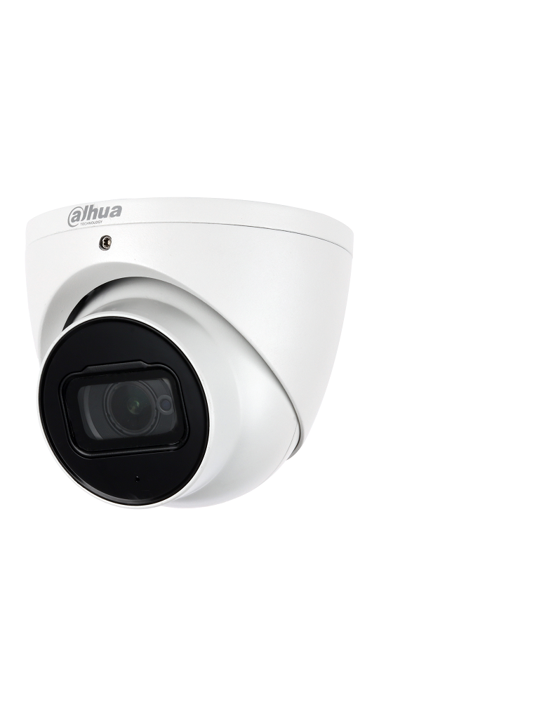 DAHUA HDW2802TA - CAMARA DOMO EYEBALL 4K/ 8 MEGAPIXELES/ LENTE 2.8MM/ IR 50 MTS/  STARLIGHT WDR 120DB/ AUDIO INTEGRADO/ IP67