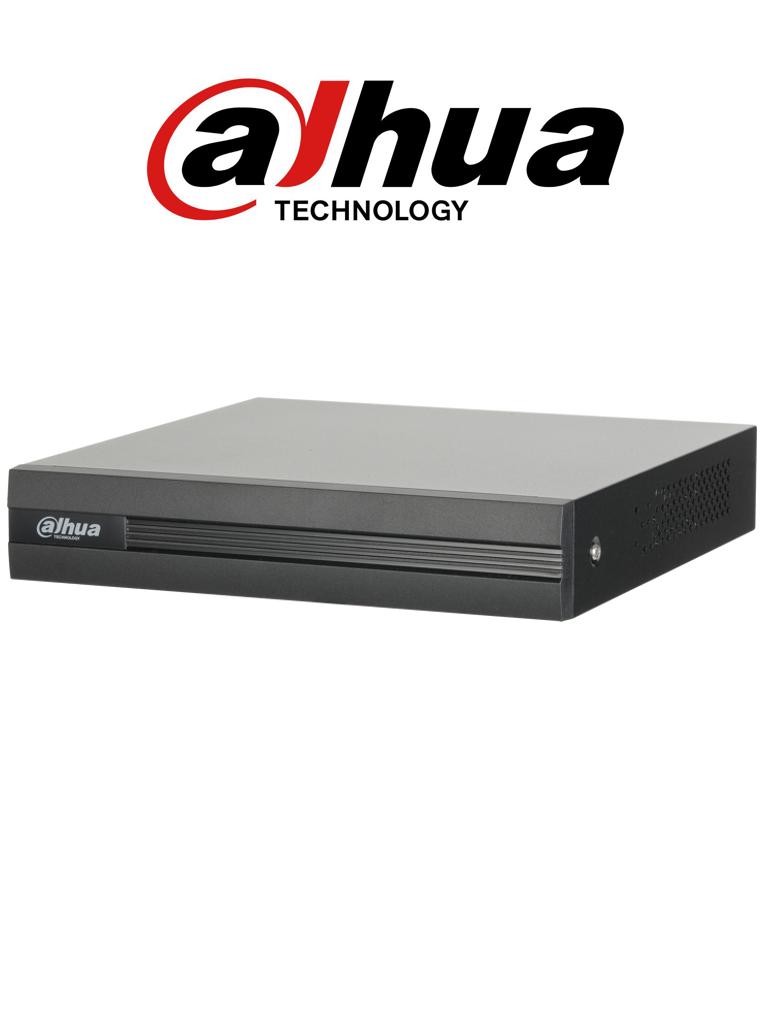 DAHUA COOPER XVR1A04 - DVR 4 Canales  HDCVI pentahibrido  1080p  Lite /  720p / H264 / 1 Ch IP adicional 4+1 / SATA Hasta 6TB / P2P / Smart audio  HDCVI