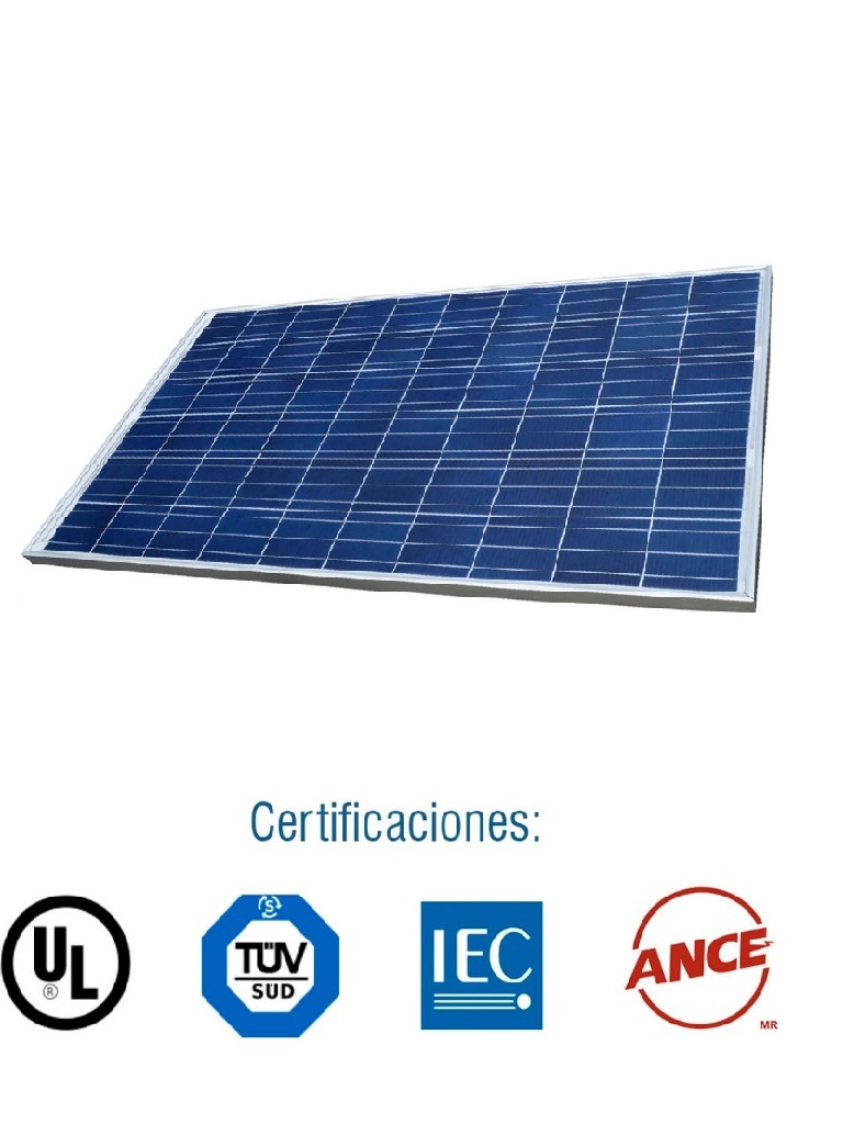 223614- PANEL SOLAR IUSASOL-PV-01-265 WATT 5BB A