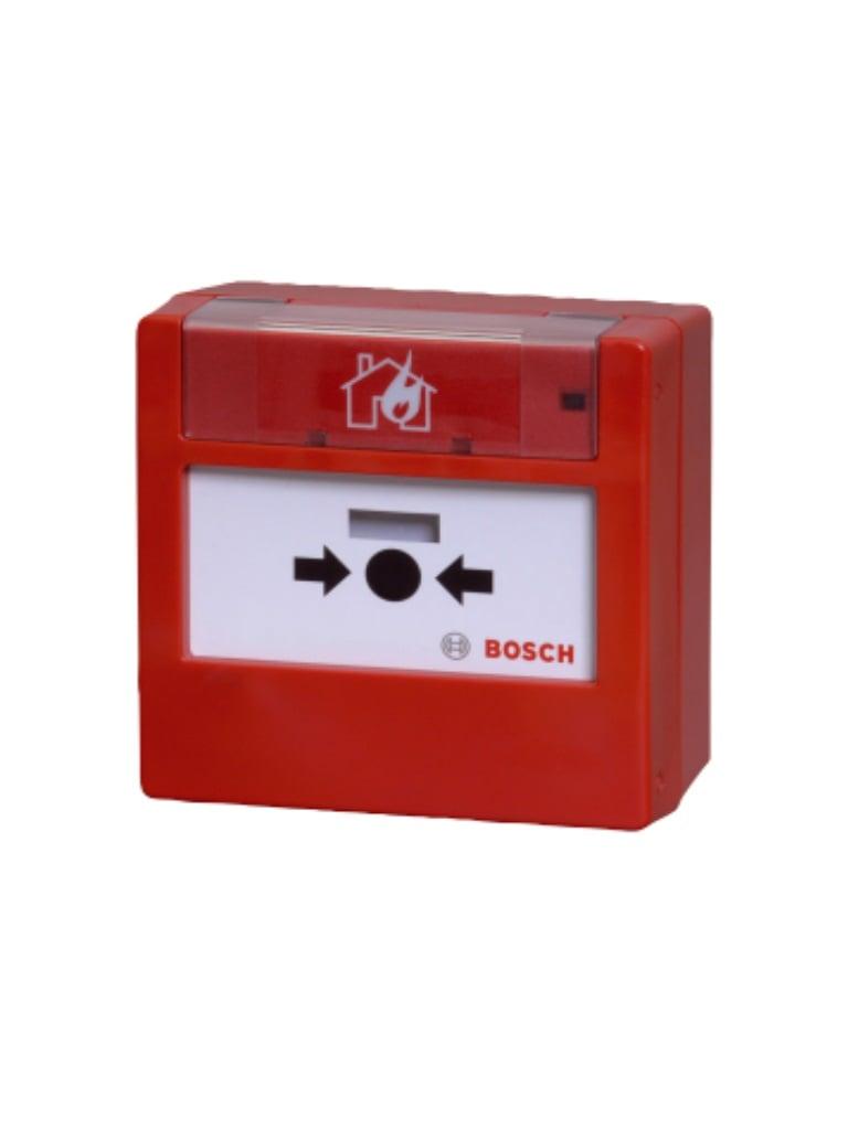 BOSCH F_FMC420RWGSRRD - Pulsador manual LSNI interior rojo RESTABLECIBLE