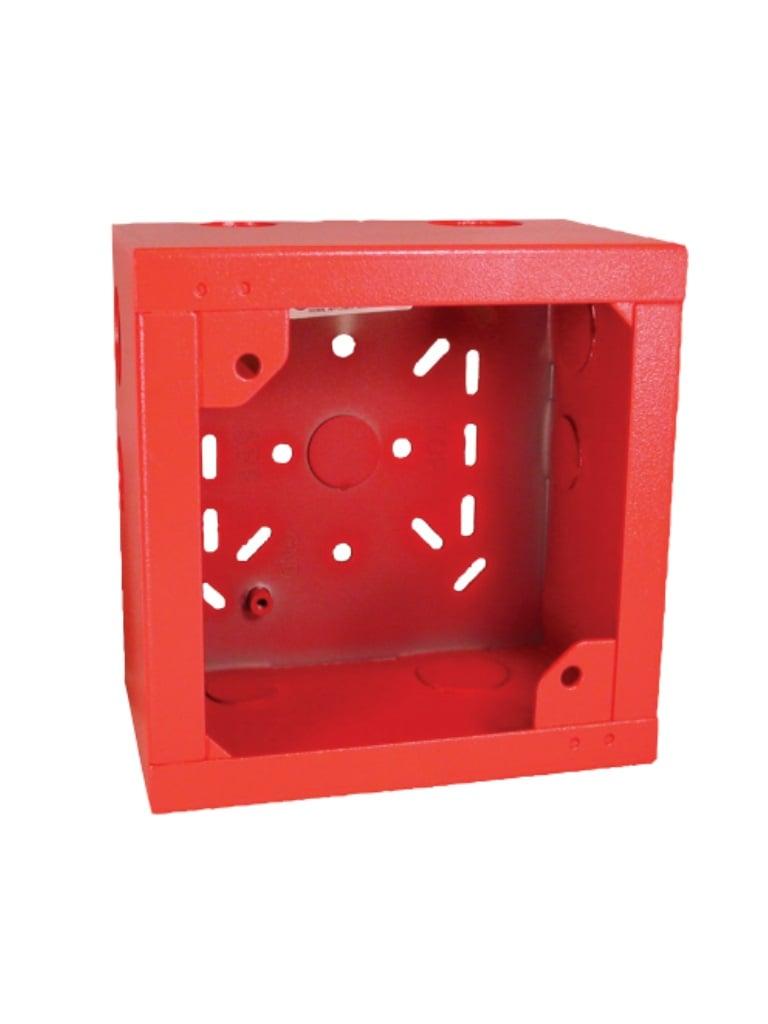 BOSCH F_SBBR - Caja posterior para sirena color rojo