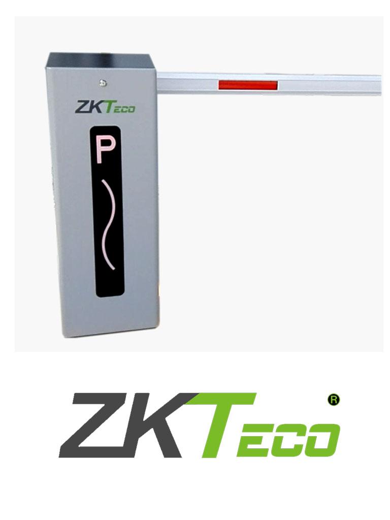 ZKTECO CMP200 - Barrera Vehicular de doble dirección Izq o Der/ Brazo Telescópico de 2.6 hasta 4.5 metros / 3 Seg. / Gabinete con Luz Led Indicador de estado / Sistema Inteligente anti-impacto/ Incluye 2 controles remotos