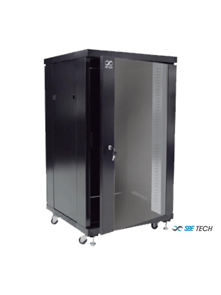 SBETECH - SBE-GNL26UR Gabinete de piso 26UR, 800 mm de profundidad / #Gabinete