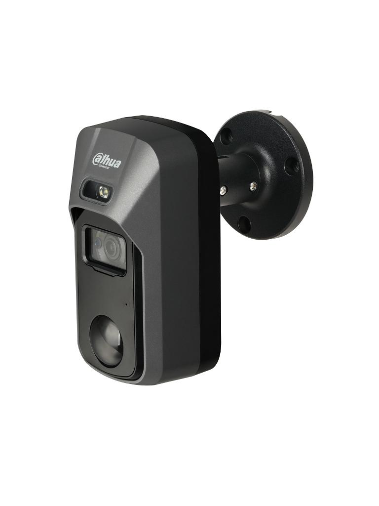 DAHUA ME2241C - Camara PIR con disuasion activa / 2 Megapixeles / Lente de 2.8 mm / Ir 20  Mts / PIR 15  Mts / SIRENA&LUZ Blanca / Audio integrado