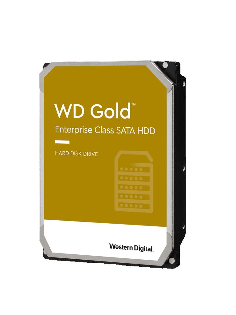 WESTERN WD102KRYZ- Disco duro 10 TB/ Serie Gold/ Sata 6 GBS/ Recomendado para video vigilancia/ Servidores/ 7200 RPM/ 256MB/  Tamano 3.5