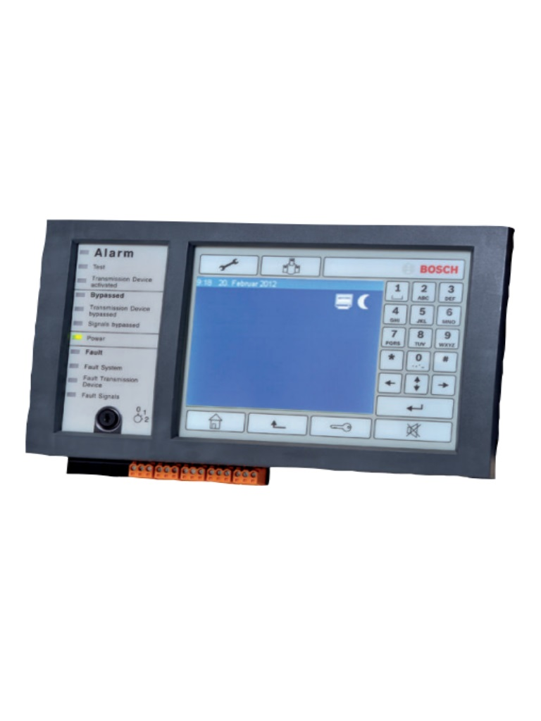 BOSCH F_MPC2000C - Controlador de la central en / Pantalla tactil /  LCD Multicolor / Version en ESP
