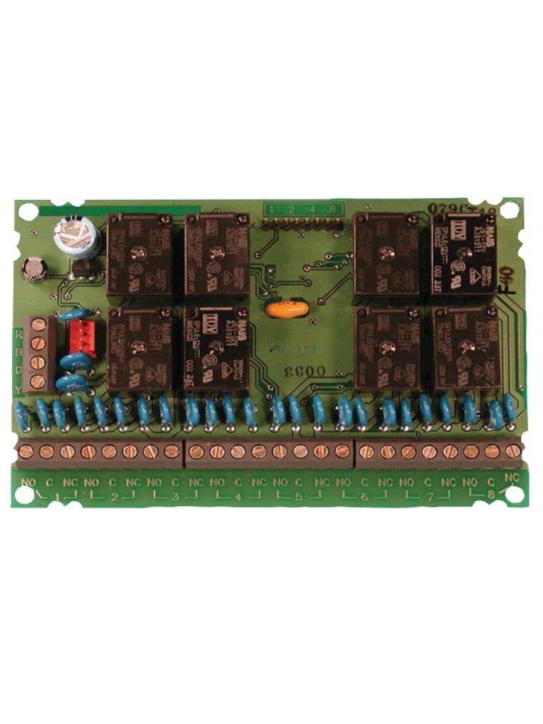 BOSCH F_D7035 - Modulo de 8 reles programables / Compatible hasta 2 modulos en la central de incendio FPD-7024