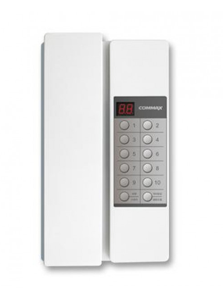 COMMAX TP90RN - Sistema de intercomunicador, configuración de números de extensión, soporta hasta 90 equipos, distancia máxima 100 metros
