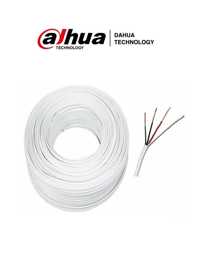 DAHUA CABLE RVV4- 6m de cable para videoportero analógico VTH2020DW / VTO2010D / KTA01 #TocToc