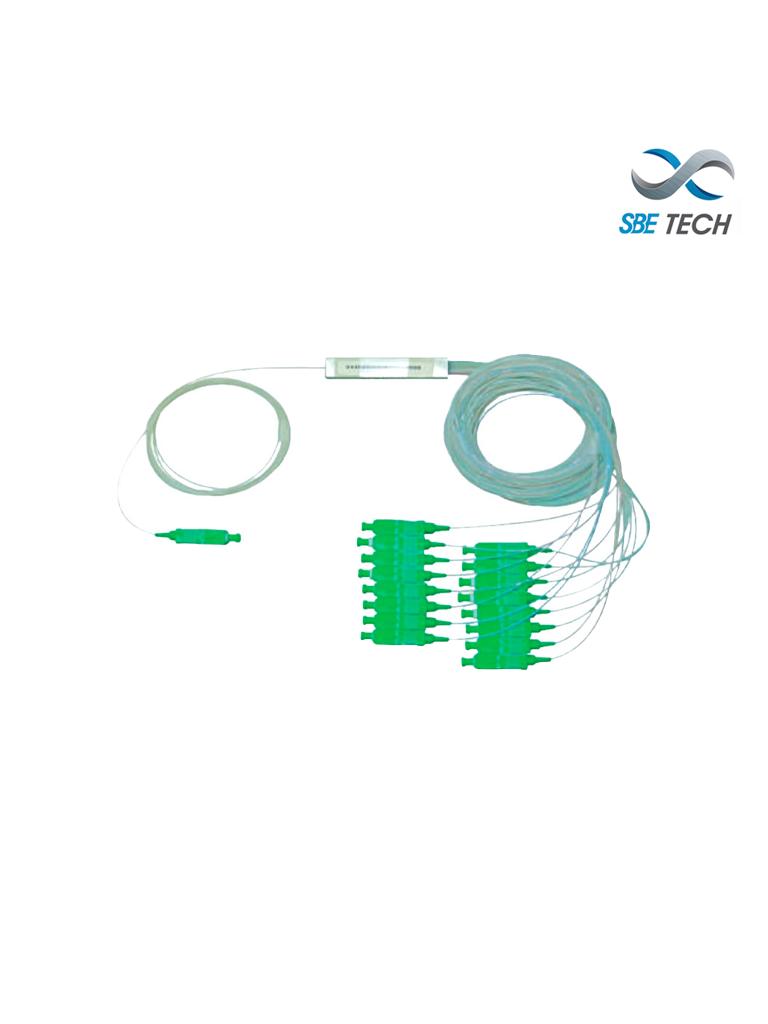 SBETECH SBE-SPPLC1X2SCAPC - Splitter PLC 1x2 SC/APC SM