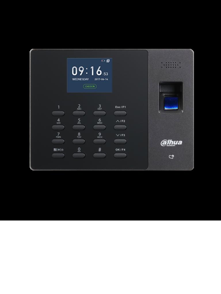 DAHUA ASA1222G- Control de asistencia TCP/IP standalone/ Bateria incluída / 2000 Huellas / 1000 Usuarios / 100 000 Registros / 1000 tarjetas MIFARE #AccesoProfesional