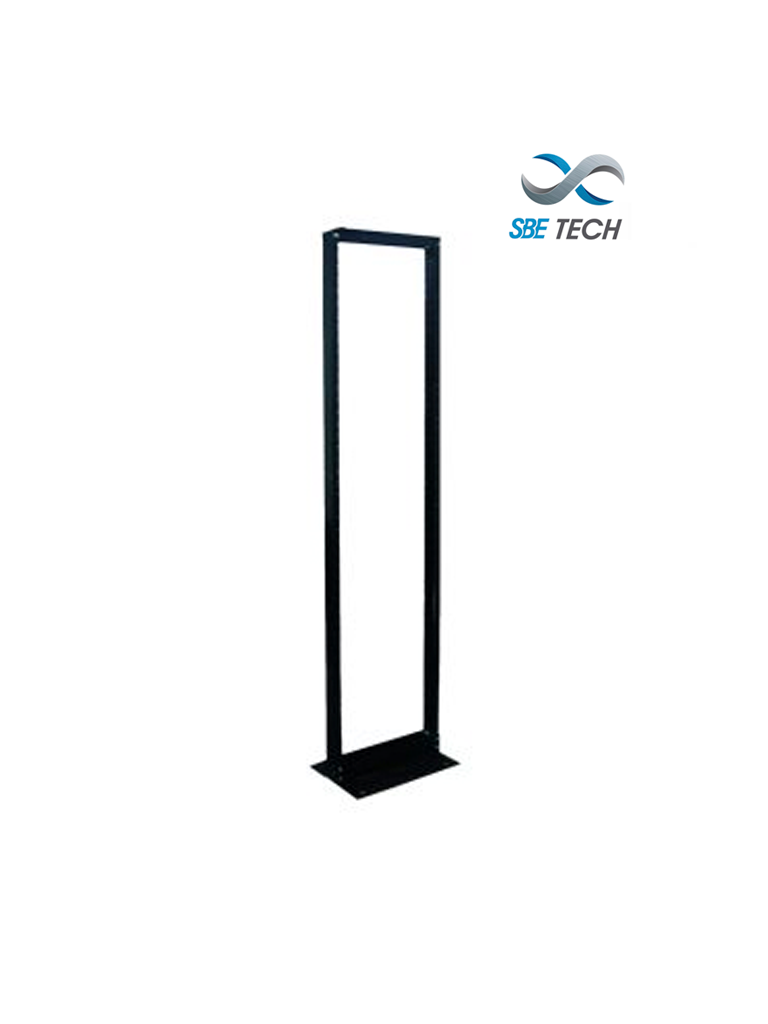 SBETECH SBE-RR719 - Rack liviano de piso en acero /  42UR / perforación roscada 12-24 / soporte 350kg / #Rack