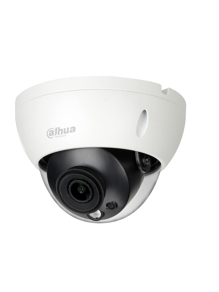 DAHUA IPCHDBW1831R28 - Camara IP domo 4K / 8 Megapixeles / Lente 2.8 mm / H265+ / IP67 / IK10 / WDR Real / Ir 30  Mts /  PoE / ONVIF / 3DNR