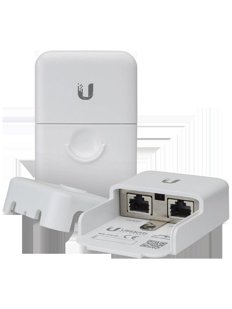 UBIQUITI ETHSP- PROTECTOR CONTRA DESCARGAS ELECTRICAS/ COMPATIBLE CON PRODUCTOS AIRMAX/ FACIL INSTALACION