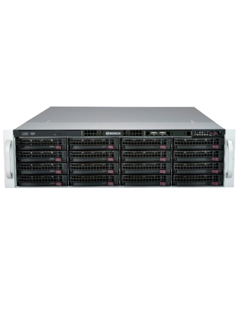 BOSCH V_DIP61F416HD- SERVIDOR DE ALMACENAMIENTO DE 16 BAHIAS CON DISCOS DUROS DE 4TB.