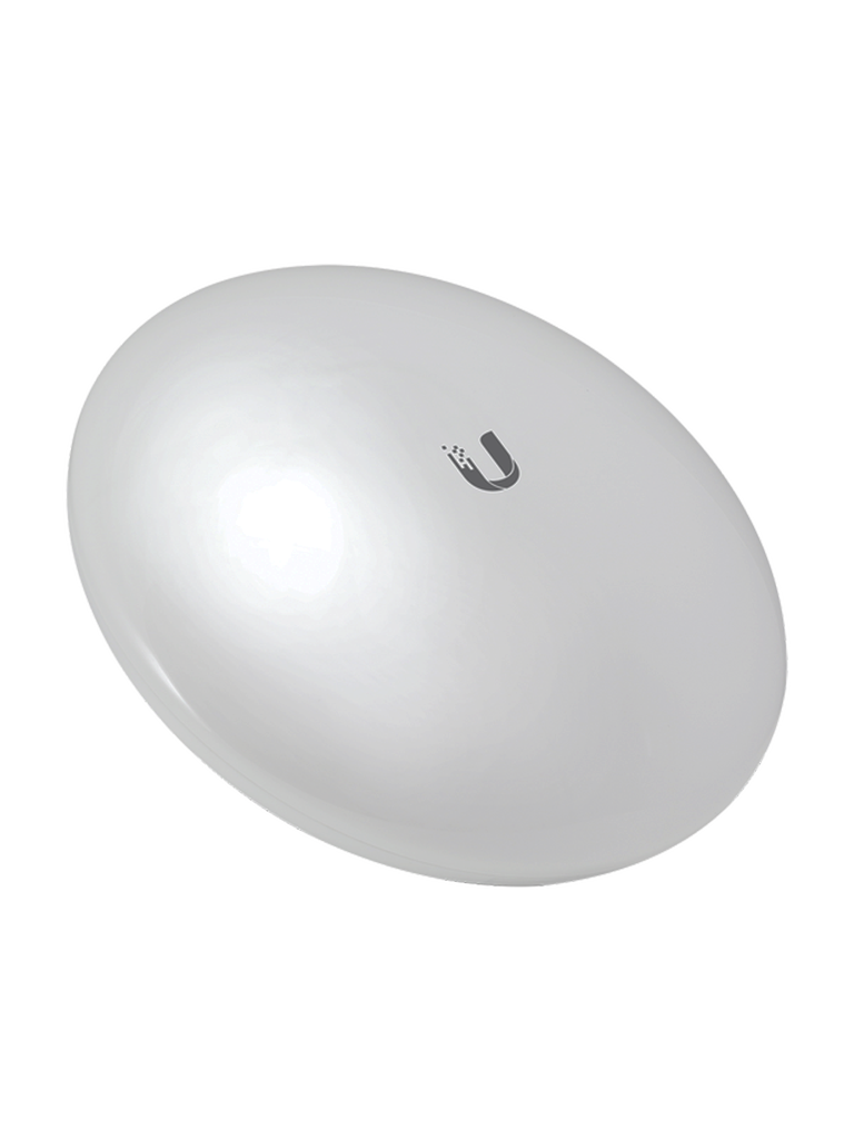 UBIQUITI NANOBEAM NBEM516 - Radio con antena integrada Airmax 5.8GHz / Exterior / MIMO / Antena 16 dBi / 26 dBm / Rendimiento hasta 150 Mbps
