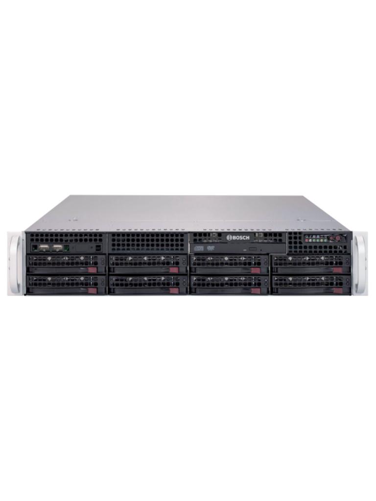 BOSCH V_DIP618000N- SERVIDOR DE ALMACENAMIENTO/ NO INCLUYE HDD/ 8 BAHIAS PARA HDD DE 3 Y 4 TB