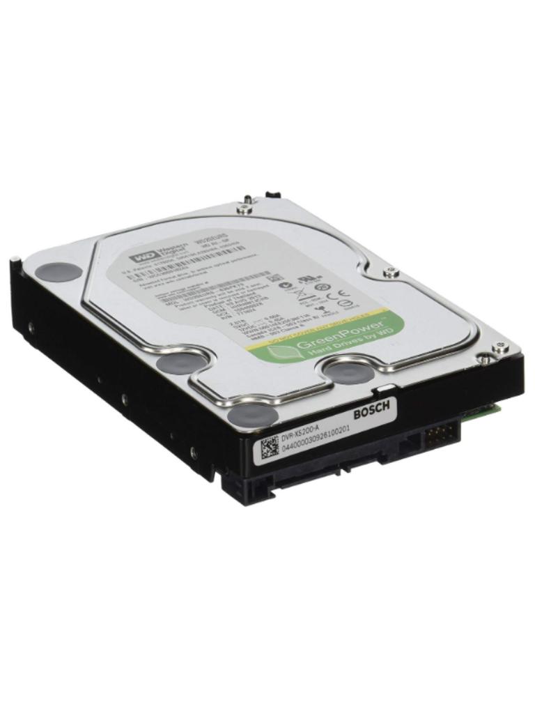 BOSCH V_DVRXS200A - Disco duro capacidad 2TB. / Compatible con DVR BOSCH familia 3000 y 5000