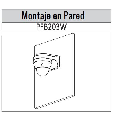 IPCD2B40ZS  montaje pared