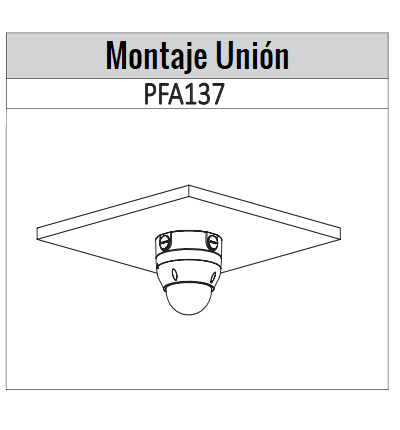 IPCD2B40ZS  montaje union