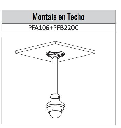 IPCD2B40ZS  montaje techo