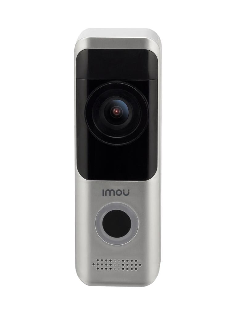IMOU DOORBELL - Video Portero 100% Libre de Cables con Bateria Recargable/ 2 Megapixeles/ IR 5 Mts/  WiFi/ SD/ Audio/ IP65/ Compatible con Alexa y Asistente de Google/ PROMIMDH