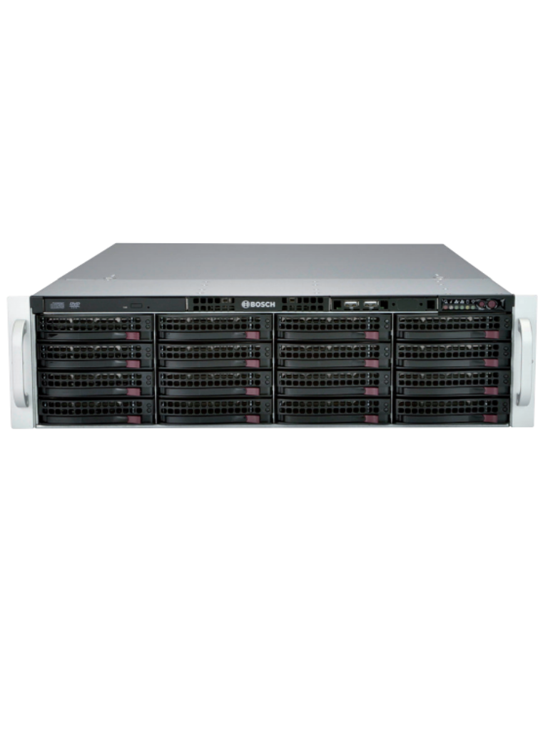 BOSCH V_DIP61F816HD- SERVIDOR DE ALMACENAMIENTO CON 16 DISCOS DE 8 TB/ DIVAR  IP 6000 3U