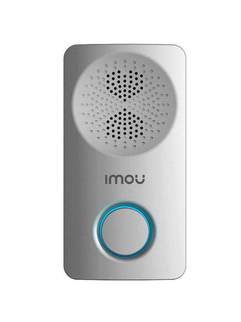 IMOU CHIME - Timbre o campana WiFi/ Para Videotimbres de Puerta/ Bocina integrada/ Multiples Tonos/ Interior/ PROMIMDH